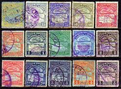 00032 Venezuela Aéreos 18/25+27+30+32/34+36/37 Avião U - Venezuela