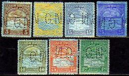 00051 Venezuela Serviço 17/21+23+28 Perfim Gn Nn / N - Venezuela