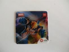 Wolverine Marvel Galp Card Portugal Portuguese - Marvel Heroes