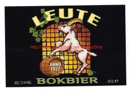 Leute Bokbier - Brouwerij Bios - Bière