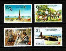 Belize 1995 Sc # 1047 / 1050  MNH **  End Of WW II - WW2