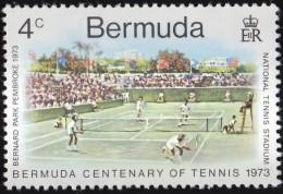 BERMUDA - Scott #304 Tennis In Bermuda, 100th Anniv. (*) / Mint NH Stamp - Tennis