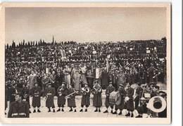 7388 01  ASSOCIAZIONE NAZIONALE DEL FANTE - PELLEGRINAGGIO A REDIPUGLIA 1951 - ORDINI AL MERITO DEL LAVORO LIRE 25 - Monumenti Ai Caduti