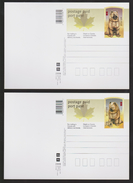 M 714) Canada 2005 (Mi# 2316-2317) Auf 2 Ganzsachenkarten: Jahr Des Hundes, Chow Chow Hund - Chines. Neujahr