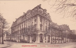 MAJESTIC-HOTEL /PARIS AVENUE KLEBER (dil103) - Hotels & Restaurants
