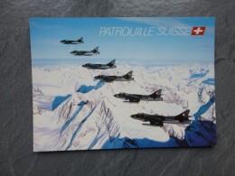 Patrouille Suisse, Aviation Militaire  ; Ref 435 TR - Aviation