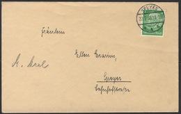 B1243 Deutsches Reich Brief Drucksache 1933 EF Hindenburg Mi. 468 Tagesstempel Speyer A - Germany