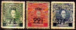 02533 Venezuela 171+173/74 Simon Bolivar N/u - Venezuela