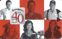 Station Casinos - Las Vegas, NV USA - 40th Anniversary Hotel Room Key Card - Hotel Keycards