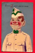 Soldat Belge: Encore 18 Jours, Puis La Classe. Camp D'Elsenborn. 12ème Régiment D'Artillerie. 1922 - Humour