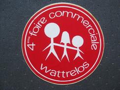 Autocollant  4 ème Foire Commerciale Wattrelos - Autocollants