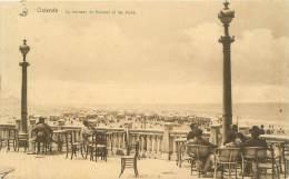 OSTENDE - La Terrasse Du Kursaal Et Les Bains - Oostende