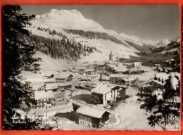 IBH-07 Lech Am Arlberg  Karhorn Im Winter. Gelaufen - Lech