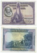 España - Spain 100 Pesetas 1928 Pick 76.a Ref 181 - [ 1] …-1931 : First Banknotes (Banco De España)