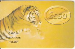 Cyprus - ESSO, Magnetic Member Card, Unused - Petrolio