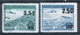 Albanien 1952 Flugpost Michel N° 523 - 524 MH Gestempelt - Albania