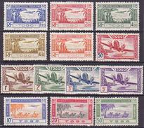 Togo P.Aérienne Séries 1 à 5  &  9 à 16 Neuf * - Voir Verso - - Neufs