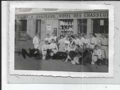 78 MESNIL ST DENIS HOTEL DES CHASSEURS   PHOTO ALLEMANDE  1940 / 1944 - Frankrijk
