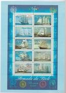 Calendrier Des Emissions De Timbres Poste 2em Semestre 1999 Format CP - Documents De La Poste