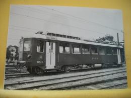 TRAIN 9504 - RORSCHACH-HEIDEN BERGBHN. PERSONENTRIEBWAGEN NR 23 (1953) KURZ NACH INBETRIEBNAHME. NOCH MIT ZUM EINSTIEG.. - Eisenbahnen