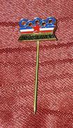 YUGOSLAVIA, OFFICIAL PIN FOR OLYMPIC GAMES ROME 1960. ORIGINAL RARE VINTAGE PIN BADGE MADE BY BERTONI MILANO - Olympic Games