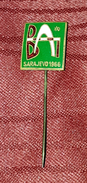 BALKAN ATHLETIC GAMES SARAJEVO 1966. ORIGINAL RARE VINTAGE ENAMEL PIN BADGE - Athletics