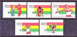 GHANA  1058-62  **  OLYMPICS - Summer 1988: Seoul