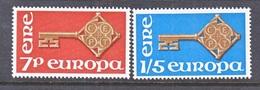 IRELAND  242-3   **   EUROPA  KEYS - 1949-... Republic Of Ireland