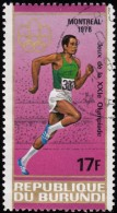 BURUNDI - Scott #496a Montréal '76 Olympic Games / Used Stamp - Summer 1976: Montreal