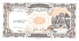 EGYPTE   10 Piastres   L. 1940   P. 187   UNC - Egypte