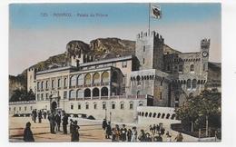 MONACO - N° 723 - PALAIS DU PRINCE AVEC PERSONNAGES - CPA NON VOYAGEE - Prince's Palace