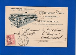Pub MANUFACTURE DE CHAUSSURES DE MORESTEL 1903  ( TTB ETAT)  Ww1512) - Advertising