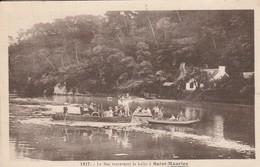 29 - CLOHARS CARNOET - Le Bac Traversant La Laïta à Saint Maurice - Clohars-Carnoët