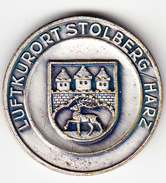 MEDAILLE, Anniversaire Du THOMAS MUNTZERS 1490-1525. LUFTKURORT STOLBERG (M 13 ) - Allemagne