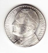 MEDAILLE, JEAN PAUL II,voyage Du PAPE En Espagne. Viaje Del PAPA A Espana, Poids 18 Gr, Diam 3.5 Cm. ( M18 ) - Autres