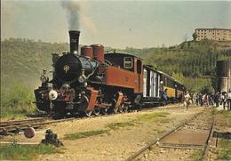 Cpsm Gf - Chemin De Fer Du Vivarais- Ligne Tournon - Lamastre , Train Vapeur 220 - Eisenbahnen