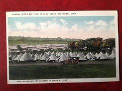 IA DES MOINES Camp Dodge Army Headquarters - Des Moines