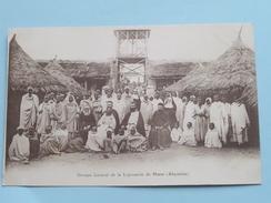 Groupe Général De La Léproserie De HARAR ( Abyssinie ) () Anno 19?? ( Carte Imprimé / Zie Foto Details ) !! - Ethiopie