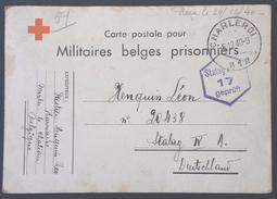 CP Pour MILITAIRES BELGES PRISIONNIERS De Merbes Le Chateau > Prisonnier De Guerre STALAG IV A Dèc 1940 - Covers