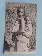 Comment Les Mamans Portent Leurs Bébés ( Missions Des Pères Du Saint-Esprit ) Anno 19?? ( Zie Foto Details ) !! - Gabon