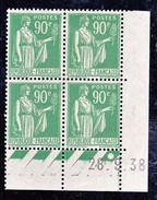 France Paix YT 367 CD 28/09/38 N* - 1930-1939