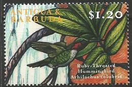 Antigua & Barbuda 2000 - MNH - Ruby-throared Hummingbird (Archilochus Colubris)
