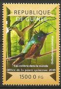 Guinea 2015 MNH - Antillean Crested Gummingbird (Orthohynchus Cristatus)