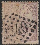 Oblitération GC 2240 Sur Timbre Espagnol N°157 - Marcophily (detached Stamps)