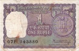INDE   1 Rupee   1978   P. 77v - India