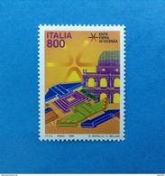 1998 ITALIA FRANCOBOLLO NUOVO STAMP NEW MNH**  - FIERA DI VICENZA - - 1991-00: Mint/hinged