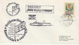 Lisboa Paquete 1979 - Paquebot Holgersson TT - Poste Maritime Sur Timbre Allemagne Deutschland - Storia Postale