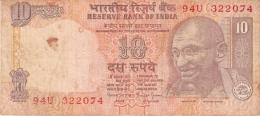 INDE   10 Rupees   ND (1996)   P. 89c - India