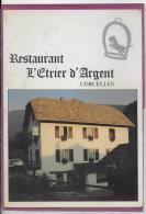 RESTAURANT L' ETRIER D' ARGENT - CORCELLES - NE Neuchatel