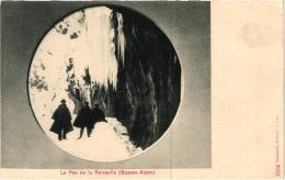 LE PAS DE LA REISSOLLE,PERSONNAGES,NEIGE  REF 51601 - France